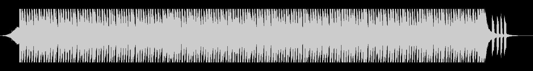 ハッピーポップ(60秒)の未再生の波形