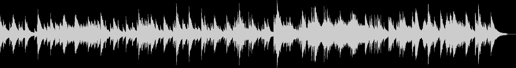 企業VPや映像/感動・透明感ピアノBGMの未再生の波形