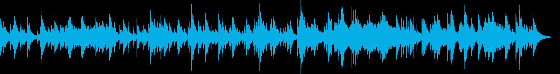 企業VPや映像/感動・透明感ピアノBGMの再生済みの波形
