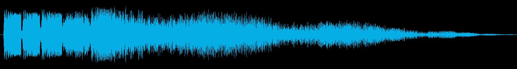 リップストップの再生済みの波形