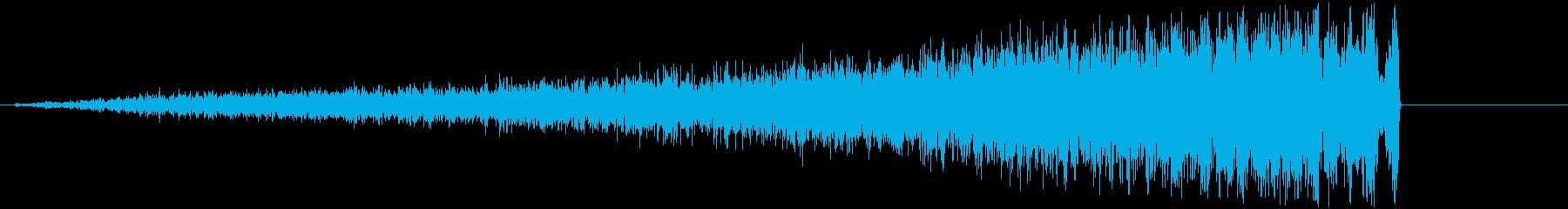【ライザー】ヒューッッッ!!!の再生済みの波形