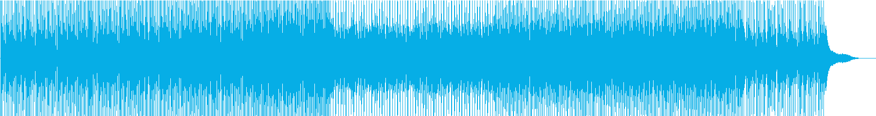 Introducing a corporate VP company Transparent and refreshing feeling's reproduced waveform