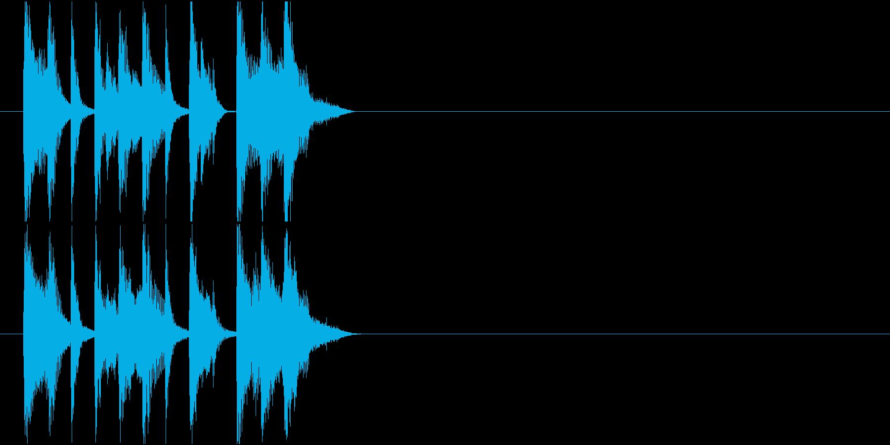 情報 CM イベント クイズ 軽快 元気の再生済みの波形
