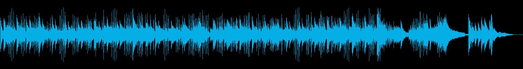 ピアノ浮遊感、幻想的で神秘的なヒーリングの再生済みの波形