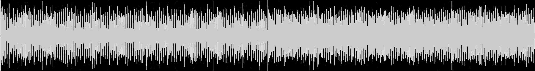 クイズ_シリアス_エレクトロ_ループの未再生の波形