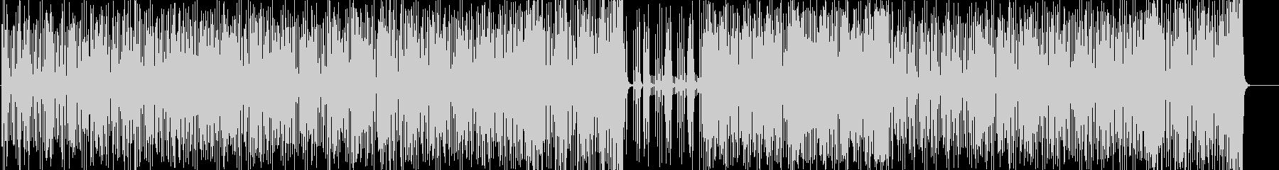 スリリングでタイトなフュージョンの未再生の波形
