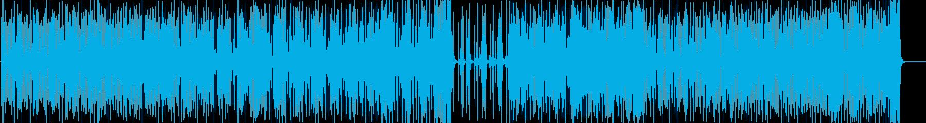 スリリングでタイトなフュージョンの再生済みの波形