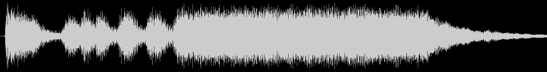 ゲームでステージクリアに使う曲の未再生の波形