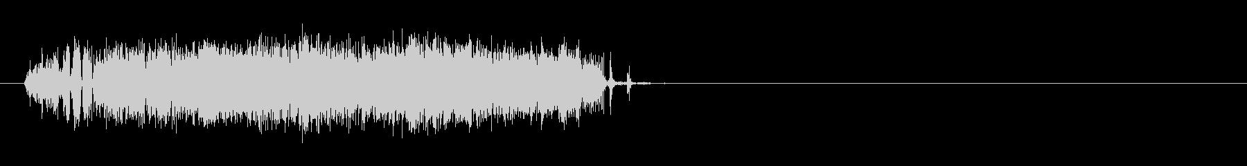 電気_バチバチ_04の未再生の波形