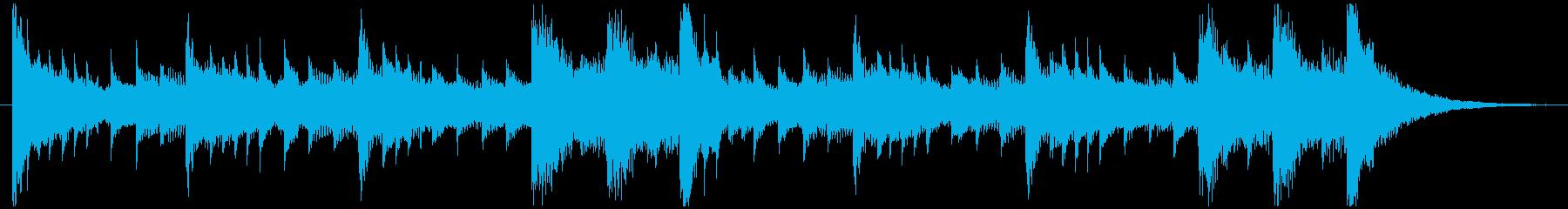 ホラー・ファンタジー・ハロウィンジングルの再生済みの波形