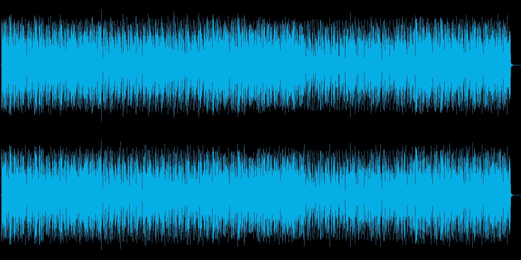 軽快でノリのあるサックスメインのポップの再生済みの波形