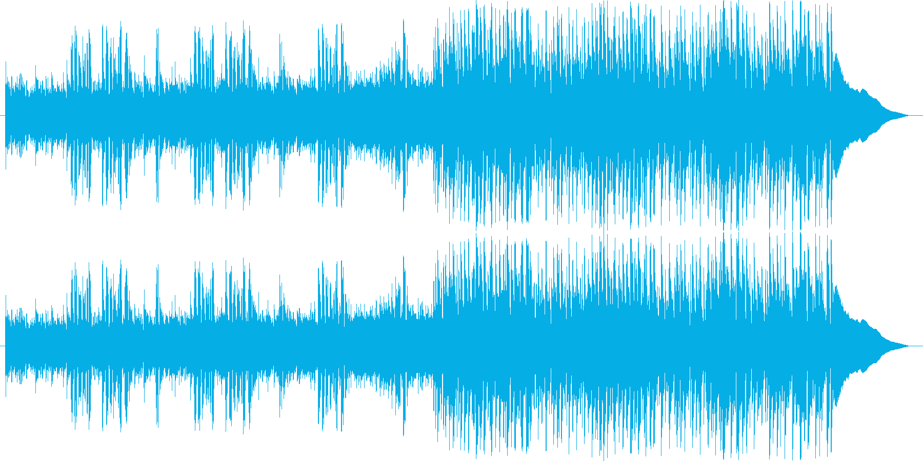 Warm pops with a fun recorder's reproduced waveform