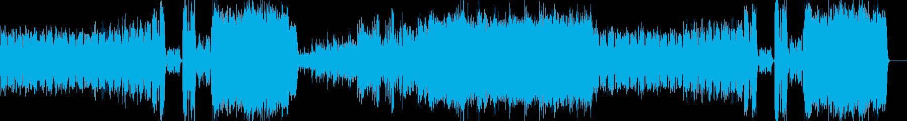 ドキュメント 科学 探検 幻想 報道の再生済みの波形