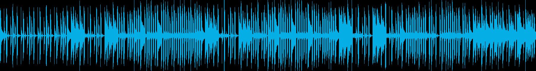 クール・暗め・進行感のあるゲーム音楽の再生済みの波形