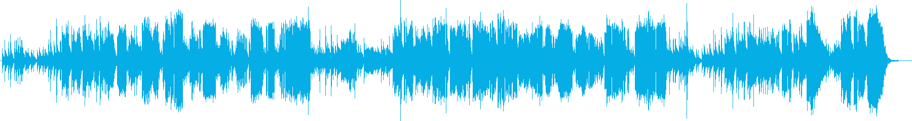 ほのぼのとした女性ボーカル曲ですの再生済みの波形
