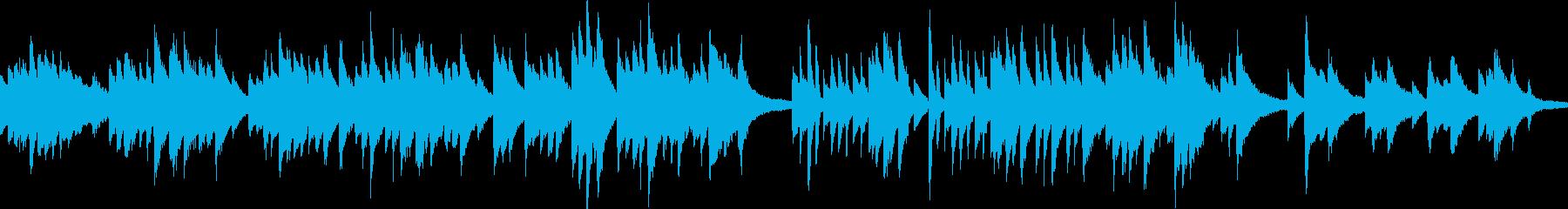 ピアノ演奏(ループ)和風・故郷・夕暮れの再生済みの波形