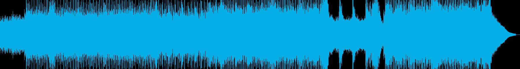 広大な大地を駆ける喜び・テクノ 短尺の再生済みの波形