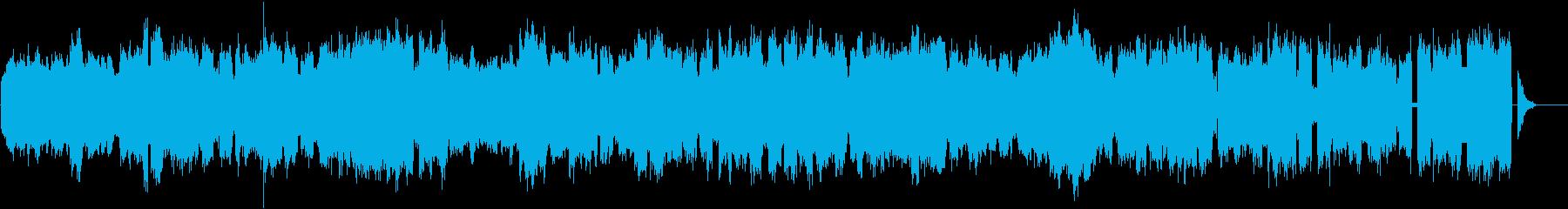 ドローン フリーズ01の再生済みの波形