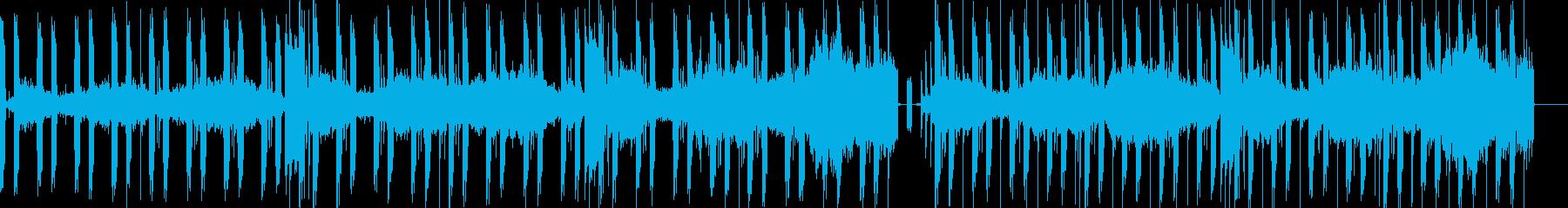 緊迫感のあるミステリー&ホラーサウンドの再生済みの波形