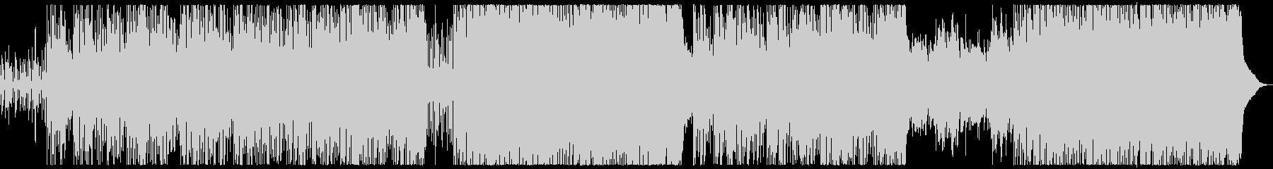 ピアノとパッド中心の透明感のある感動系の未再生の波形