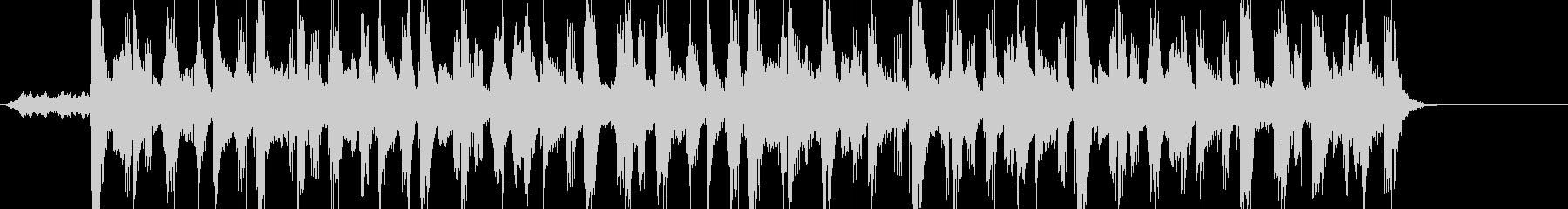 シンセのメロにハーフdimの未再生の波形