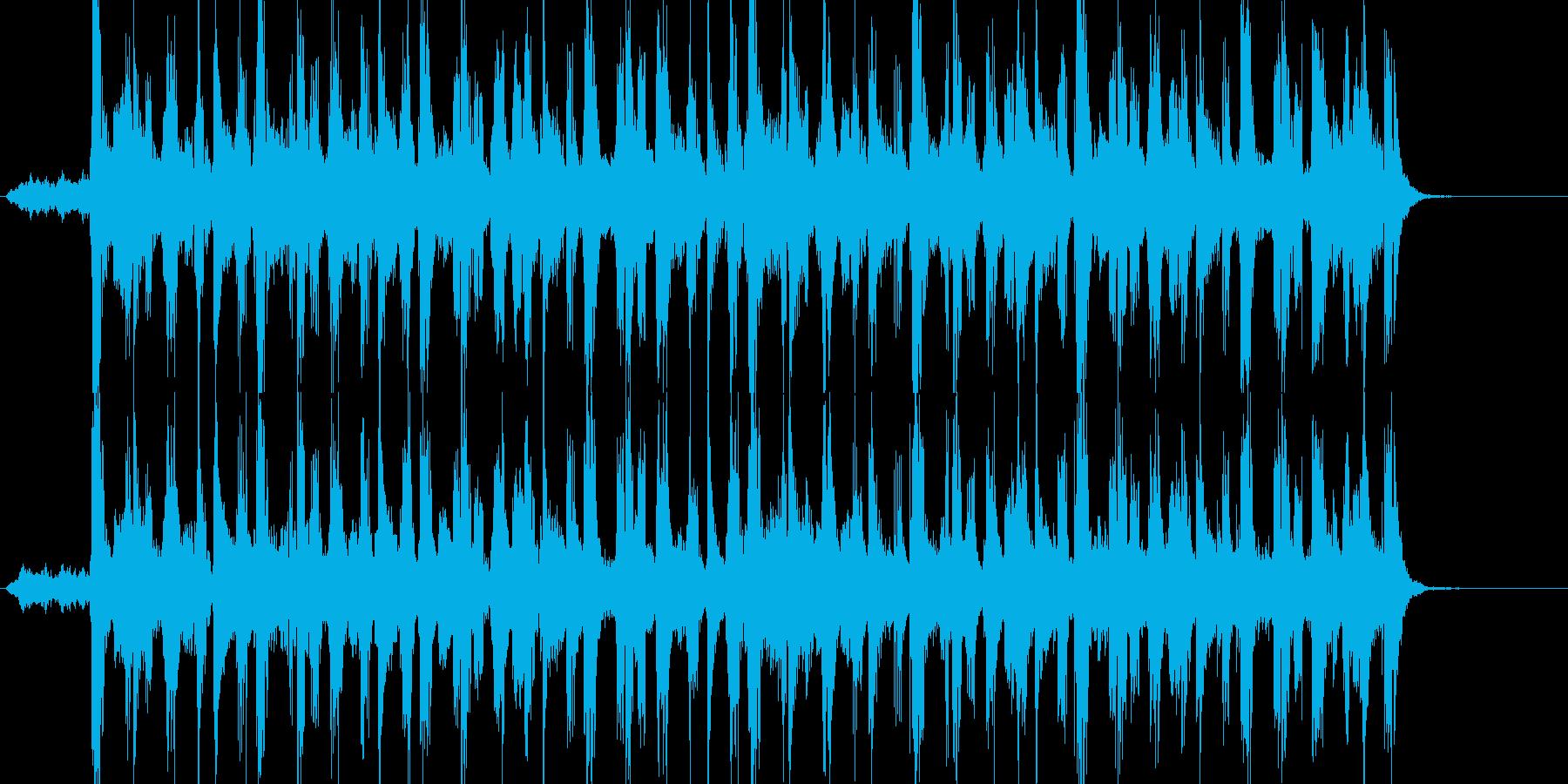 シンセのメロにハーフdimの再生済みの波形
