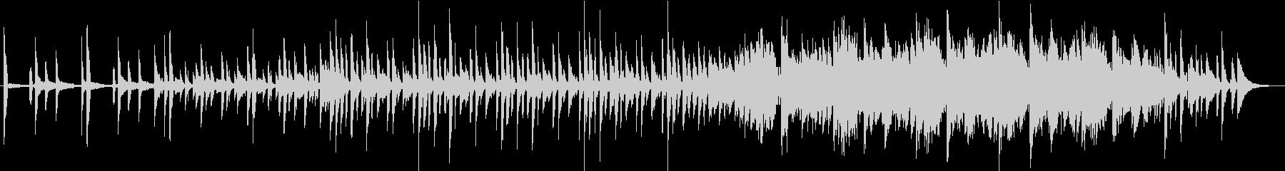 モールス信号をイメージしたポップな曲の未再生の波形