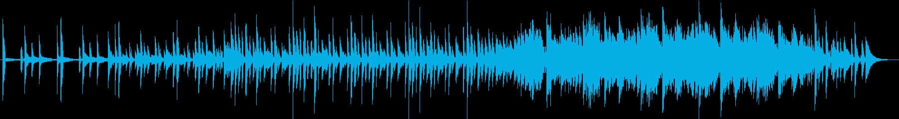 モールス信号をイメージしたポップな曲の再生済みの波形