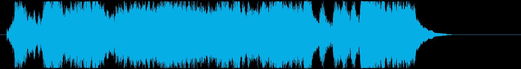 CM15秒 先進希望未来 オーケストラの再生済みの波形