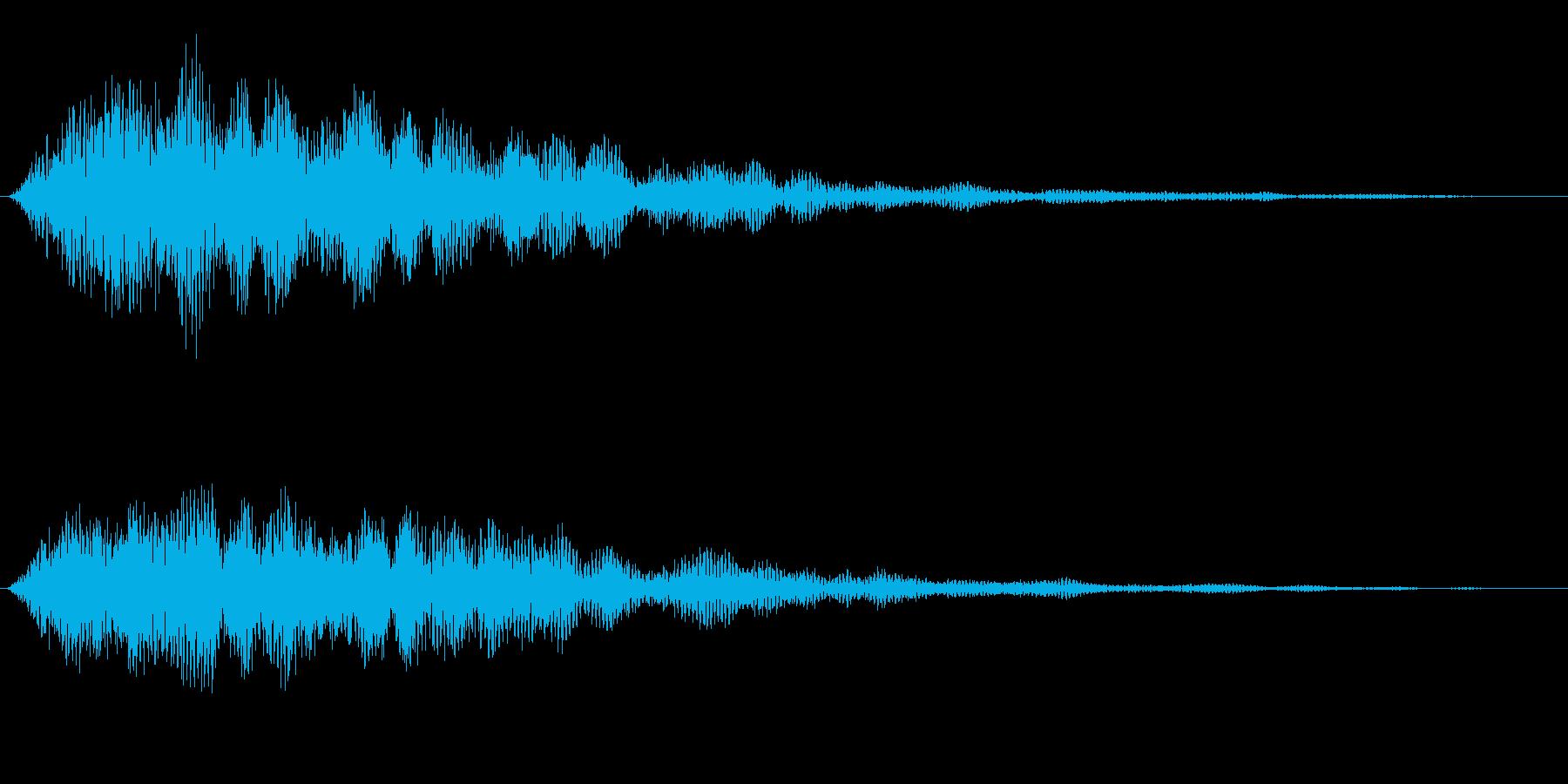 Anime 魔界的でダークな召喚SE 1の再生済みの波形