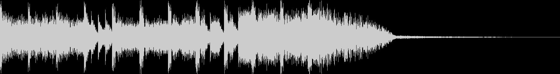 EDMジングル サウンドステッカーですの未再生の波形
