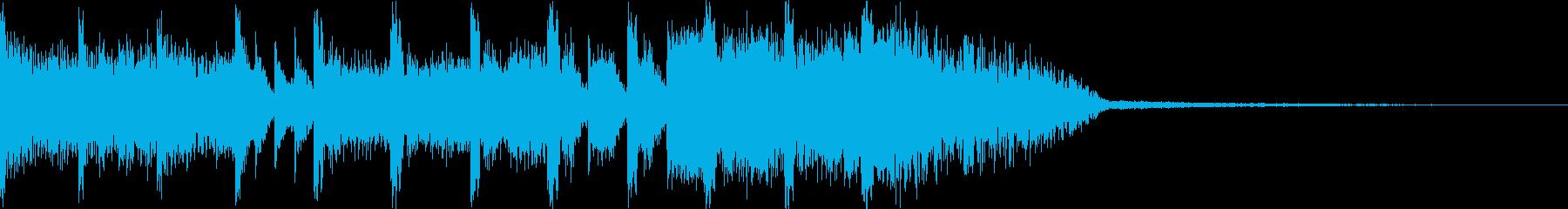 EDMジングル サウンドステッカーですの再生済みの波形