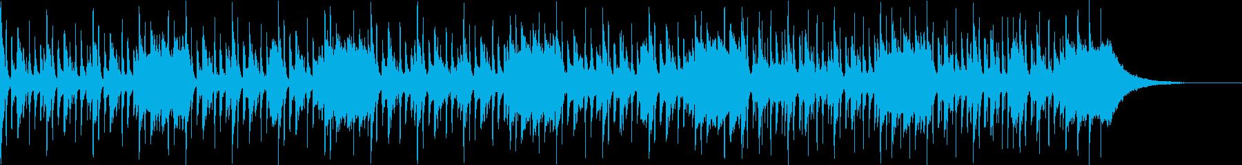 Pf「散歩」和風現代ジャズの再生済みの波形