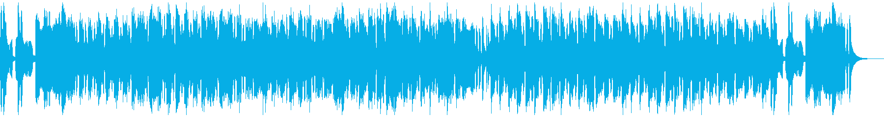 三拍子のちんどん屋BGMトトロちっくの再生済みの波形
