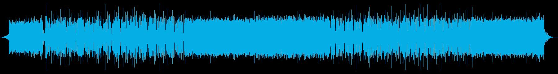 中国音階のダンスエレクトロ、パズルゲームの再生済みの波形