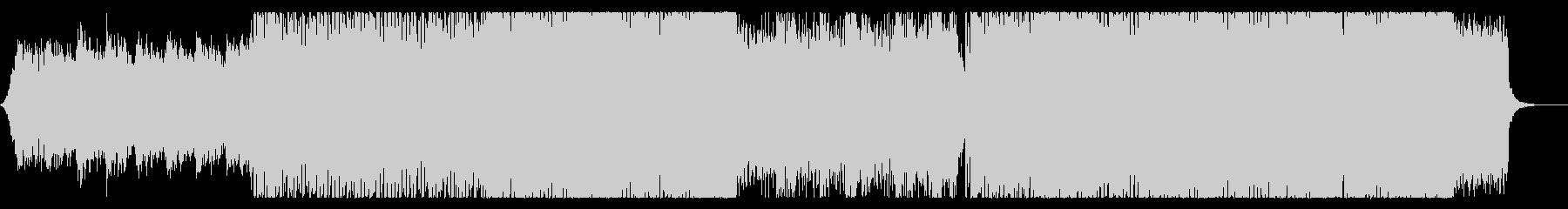80年代風の宇宙的なシンセウェーブの未再生の波形