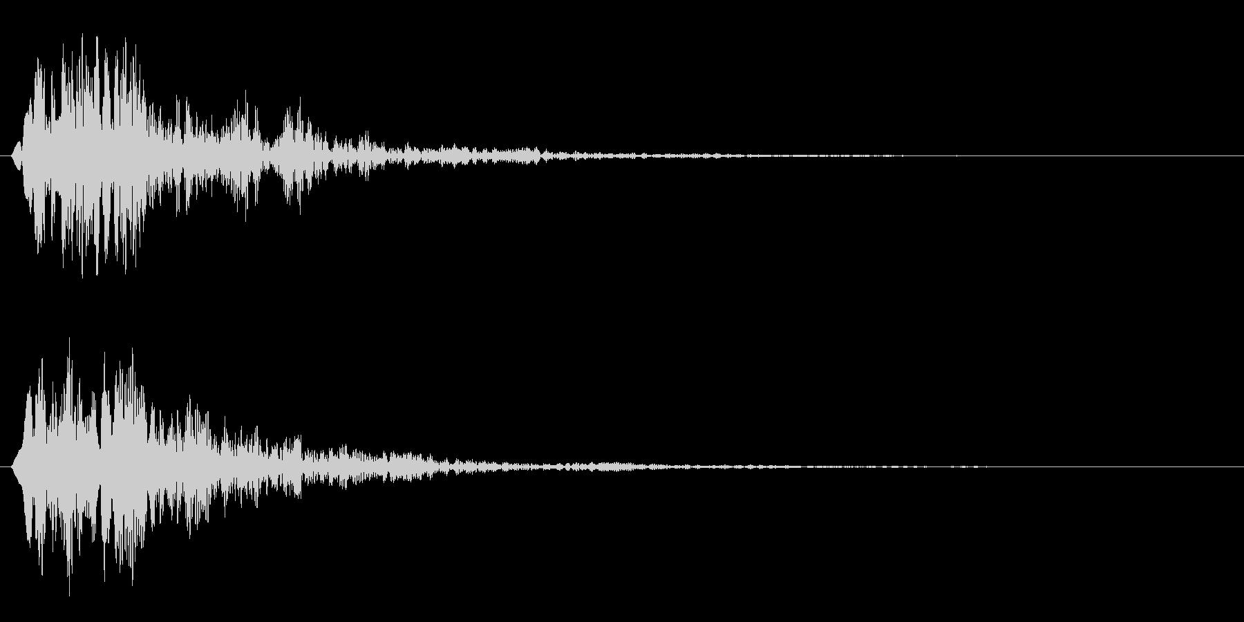 ファン(スタイリッシュなサウンドロゴ)の未再生の波形