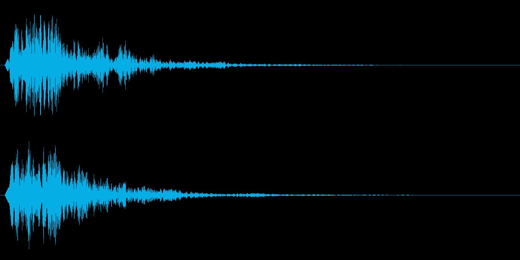 ファン(スタイリッシュなサウンドロゴ)の再生済みの波形
