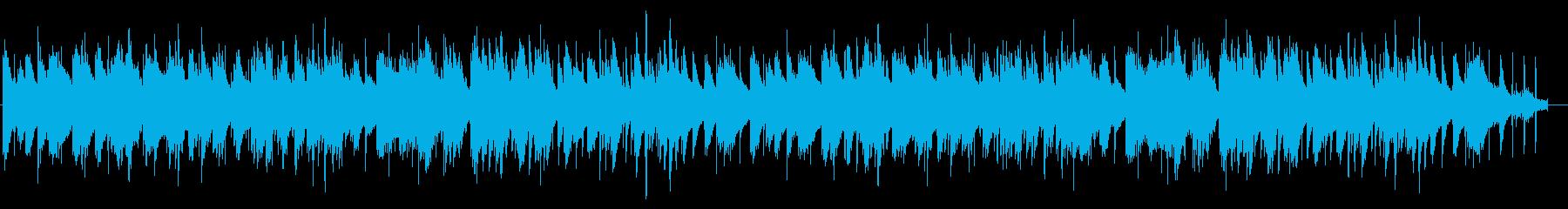 けだるい雰囲気のピアノ Lofiの再生済みの波形