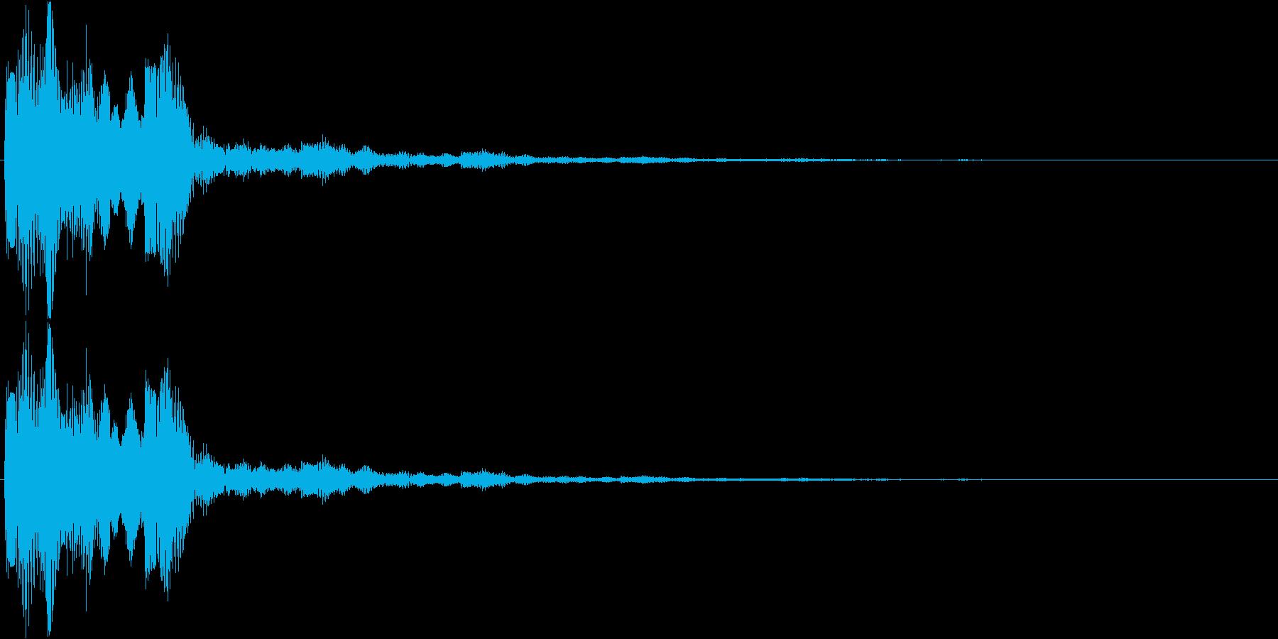 決定・空気感・キャッチー・印象的16の再生済みの波形