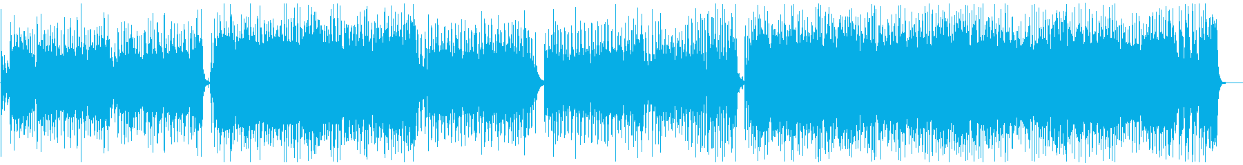 【メロなし】情熱大陸のような情熱的BGMの再生済みの波形