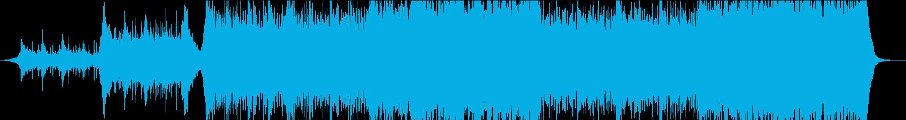 現代的 交響曲 クラシック 感情的...の再生済みの波形