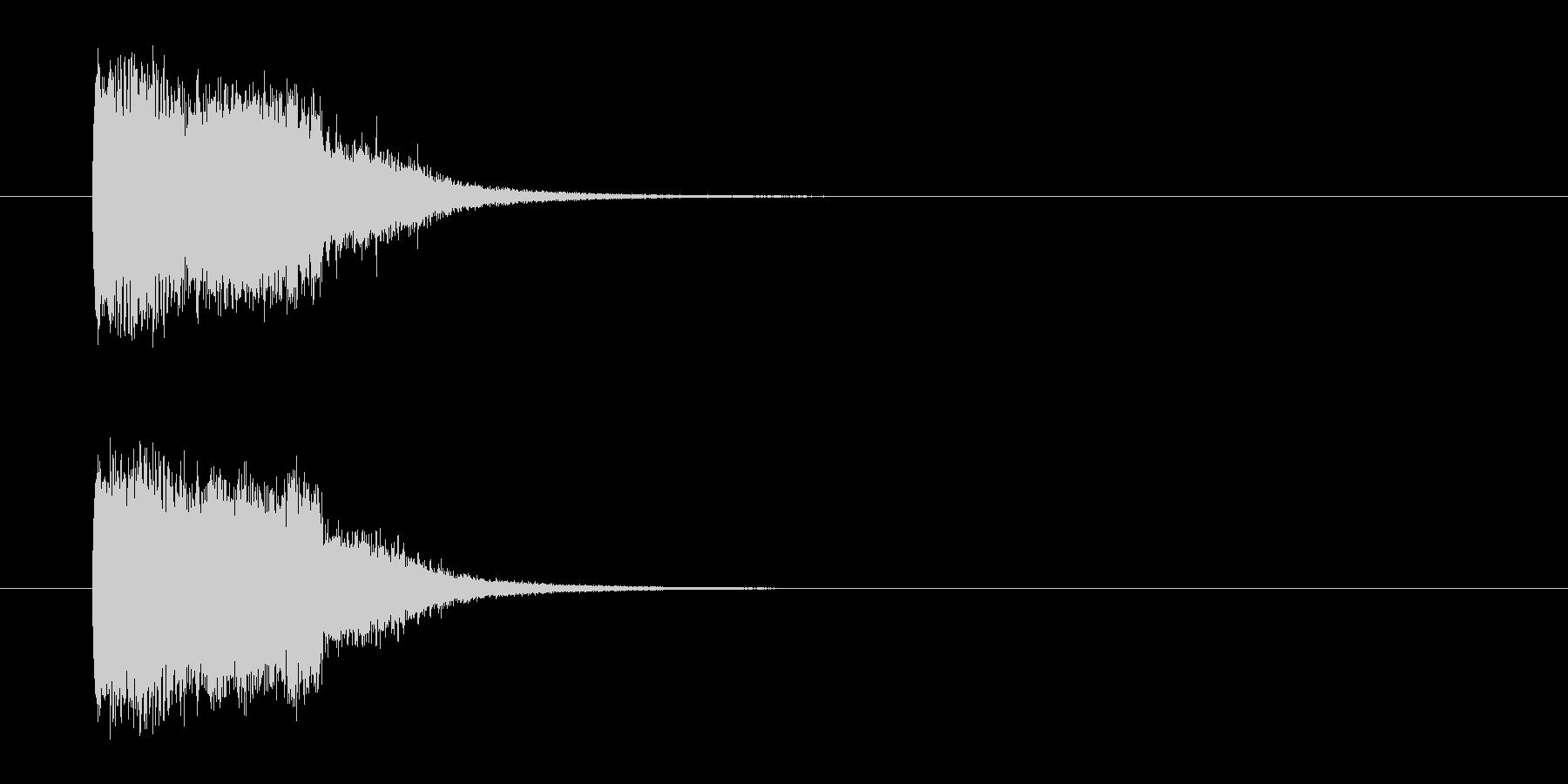 バトルアニメ風効果音_02の未再生の波形