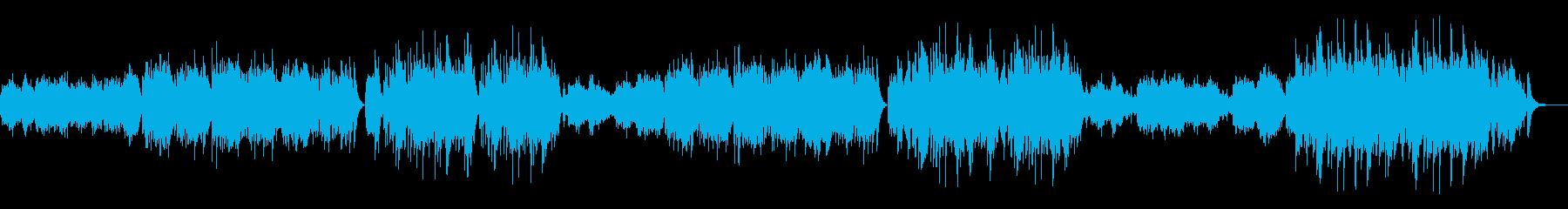 秘密の夜の演奏会の再生済みの波形