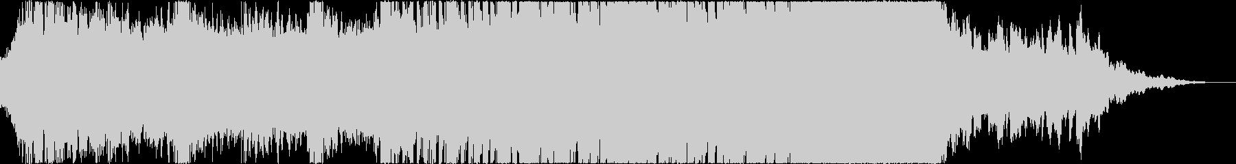 暗いショートムービーに使えるホラーテクノの未再生の波形