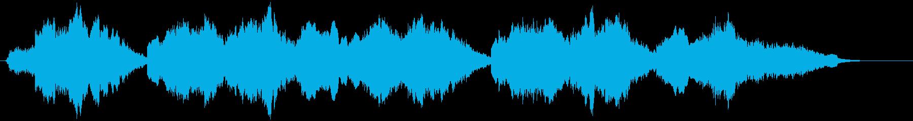 これは、まろやかなパイプオルガンと...の再生済みの波形