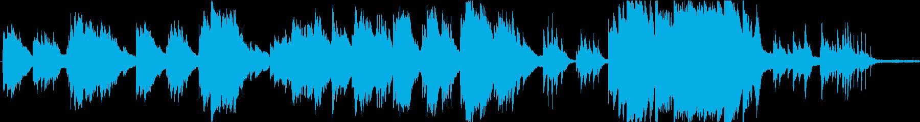 優しく切ないメロディックなピアノ曲の再生済みの波形