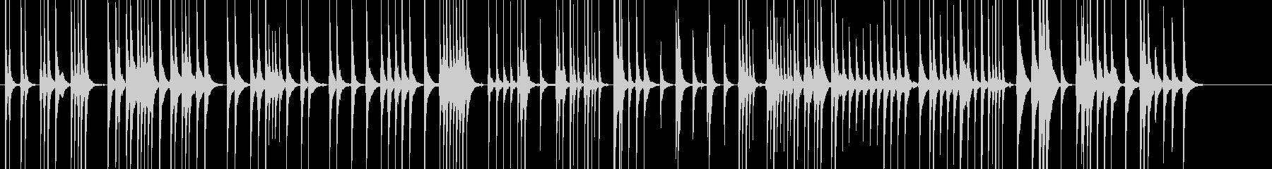 三味線111連獅子4一声歌舞伎生音和風親の未再生の波形