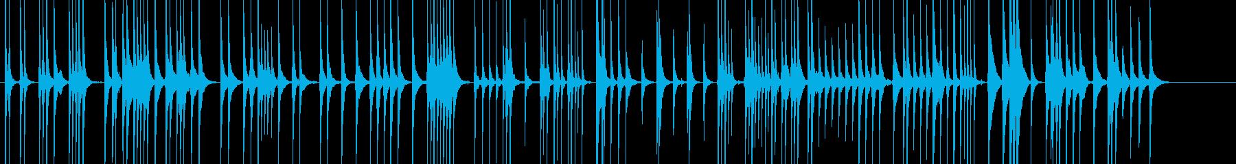 三味線111連獅子4一声歌舞伎生音和風親の再生済みの波形