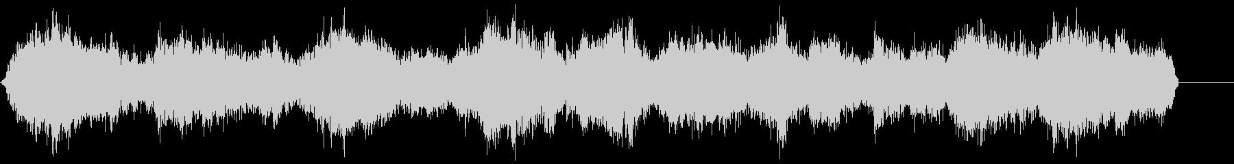 ゾンビ(グループ)うめき声1の未再生の波形